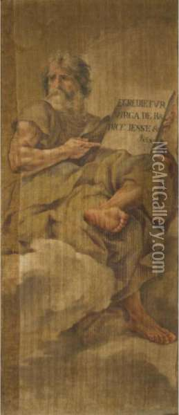 Isaiah Oil Painting - Guercino