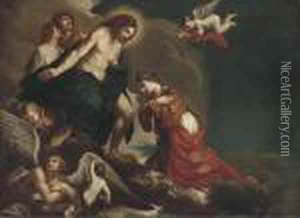 The Assumption Of Saint Petronilla Oil Painting - Guercino
