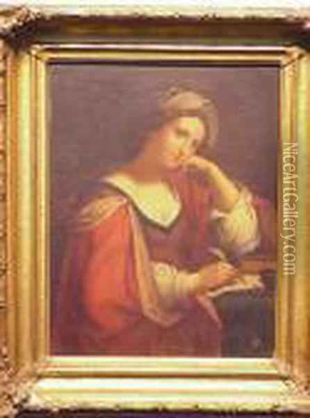 The Persian Sybill Oil Painting - Guercino