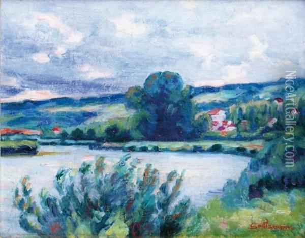 Bord De Riviere Oil Painting - Armand Guillaumin