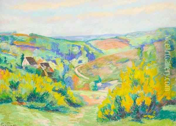 Le Pont Charraud, Creuse Oil Painting - Armand Guillaumin
