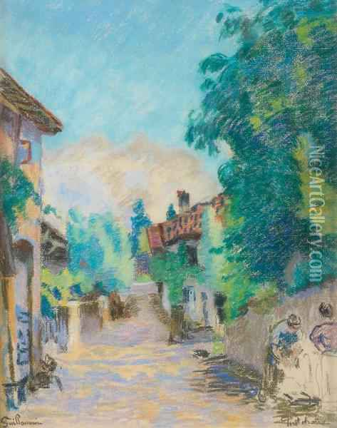 Pontcharra Oil Painting - Armand Guillaumin