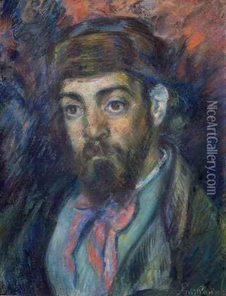 Portrait De Monsieur Martinez Oil Painting - Armand Guillaumin