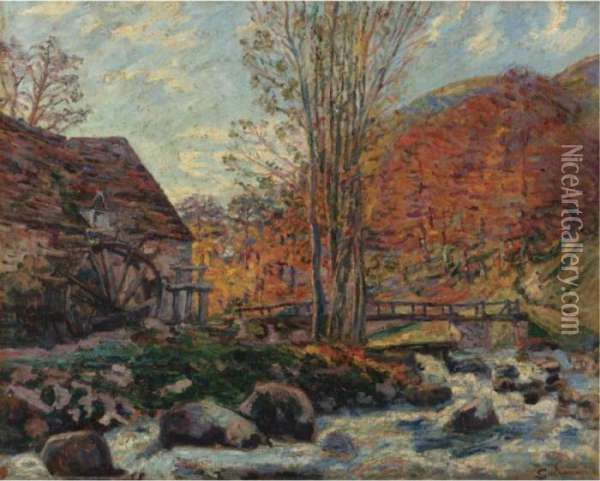 Le Moulin Brigand Oil Painting - Armand Guillaumin