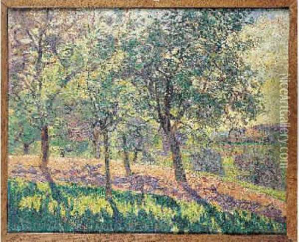 Ff 80 000 Oil Painting - Armand Guillaumin
