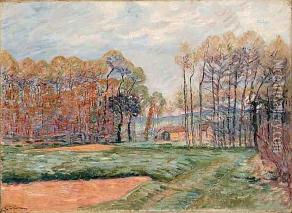 Paysage D'automne Oil Painting - Armand Guillaumin