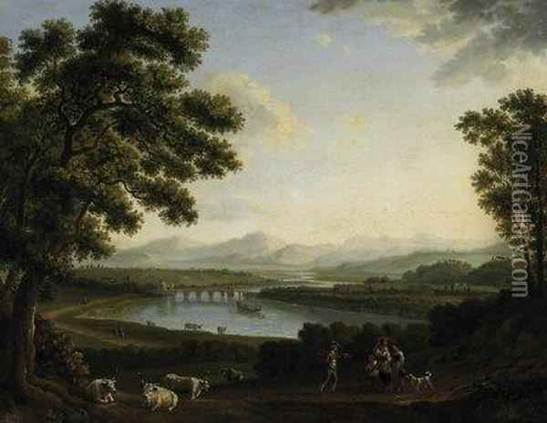 View On The Tiberdale And The 
