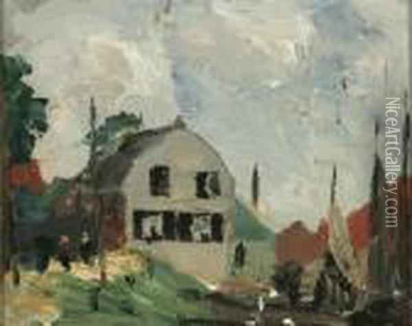 Vollendam, Holland Oil Painting - Robert Henri