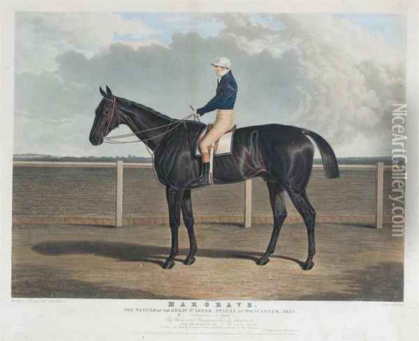 Matilda, Winner Of The St. Leger Stakes Oil Painting - John Frederick Herring Snr