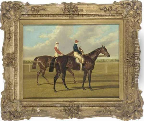 Euclid And Charles Xii Oil Painting - John Frederick Herring Snr