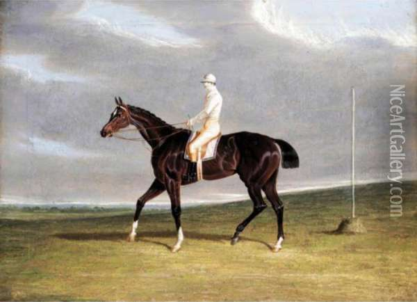 Lucetta And Robinson Up Oil Painting - John Frederick Herring Snr