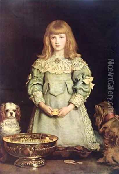 Dorothea Thorpe 1882 Oil Painting - Sir John Everett Millais