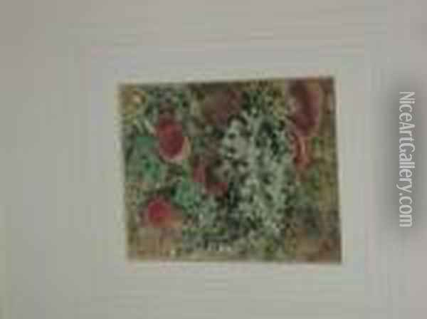 Lichens And Ivy Oil Painting - William Henry Hunt