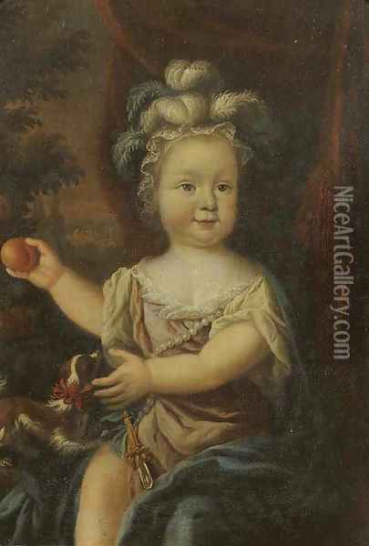 Portrait of a young girl Oil Painting - Nicolaes Maes