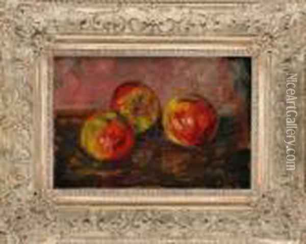 Nature Morte Aux Pommes Oil Painting - Georges Jeannin