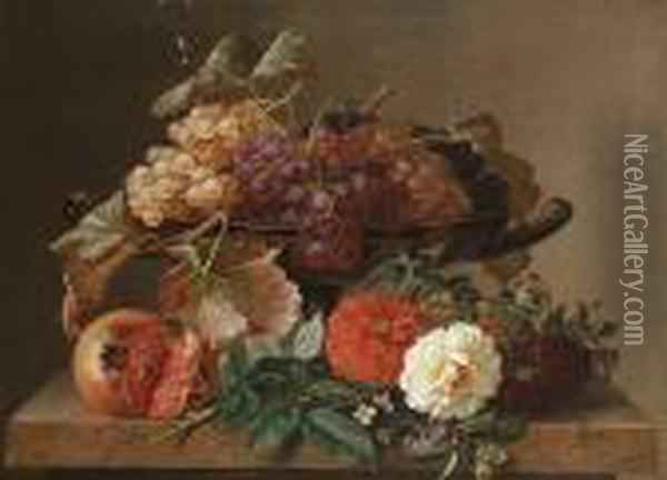 Still Life With A Tazza Of 