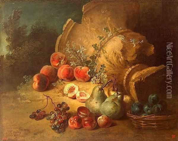 The Dead Wolf, 1721 Oil Painting - Jean-Baptiste Oudry