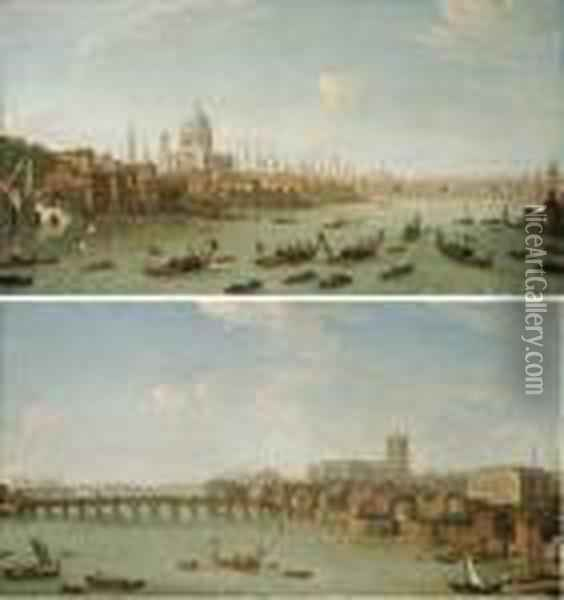 View Of The City Of London From 