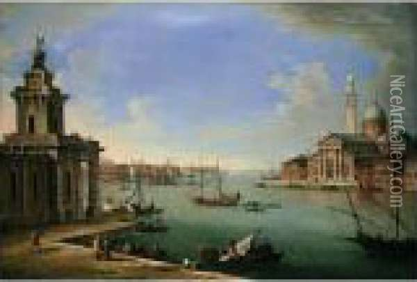 Venice, The Bacino Di San Marco 