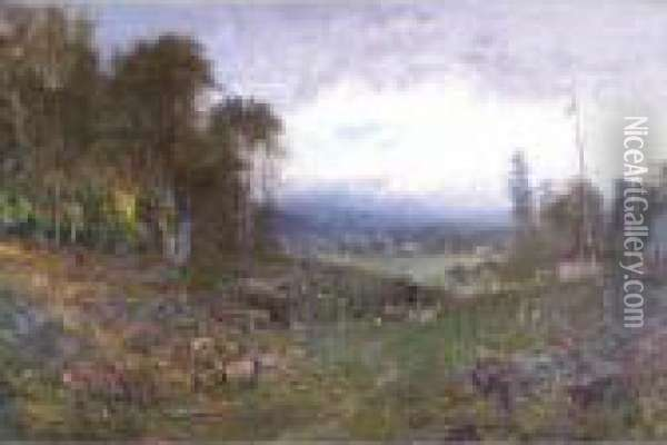 A Misty Morning In Maine Oil Painting - William Keith