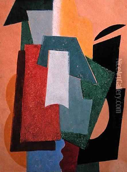 Summer, 1917-18 Oil Painting - Lyubov Popova
