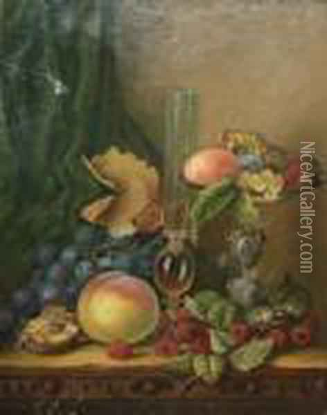 Still Life Study Oil Painting - Edward Ladell