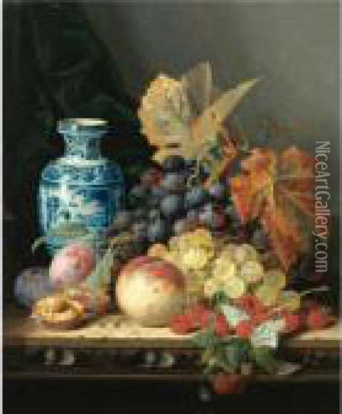 Still Life With A Chinese Vase, 