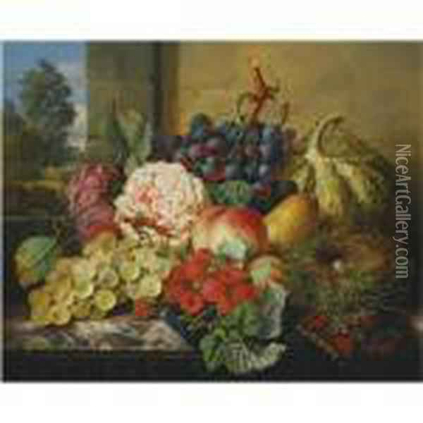 Still Life With Grapes, 