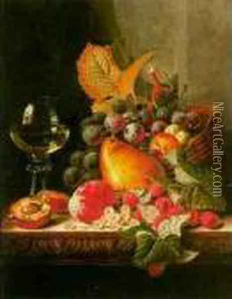 Still Life Oil Painting - Edward Ladell