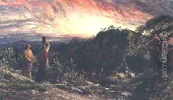 The Dawn of Life Oil Painting - Samuel Palmer