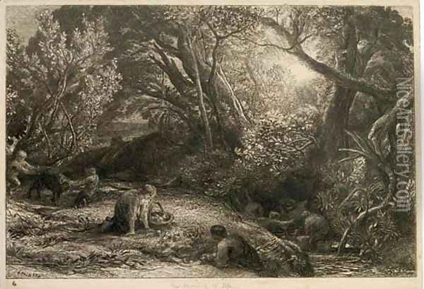 The Morning of Life (L. 10) Oil Painting - Samuel Palmer