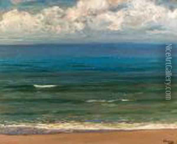 The Southern Sea Oil Painting - John Lavery