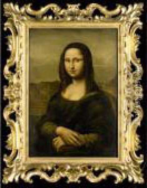 The Mona Lisa Oil Painting - Leonardo Da Vinci