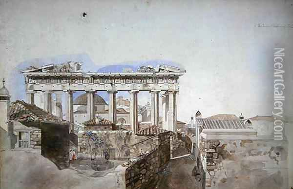 Ancient Greece Oil Painting - William Pars