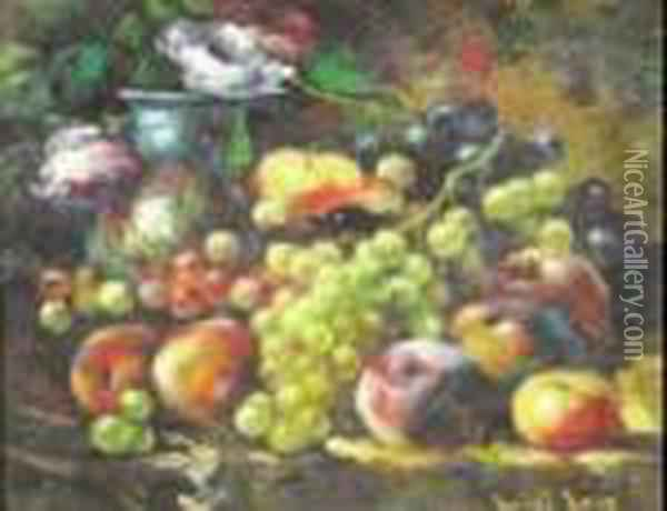Nature Morte Oil Painting - Luigi Loir