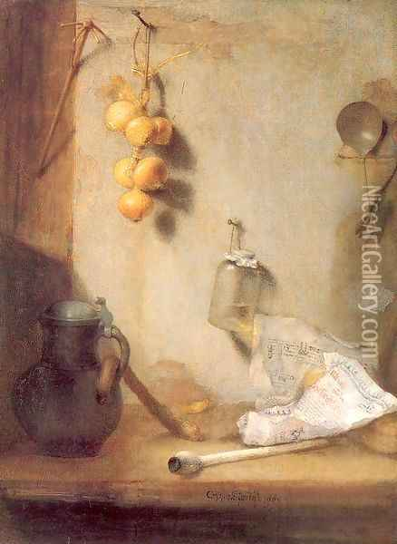 Still Life 1660 Oil Painting - Christoph Paudiss