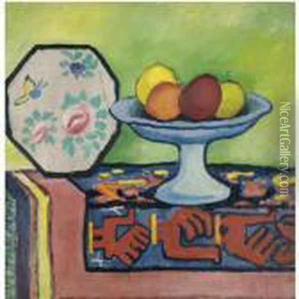 Stilleben Mit Apfelschale Und 