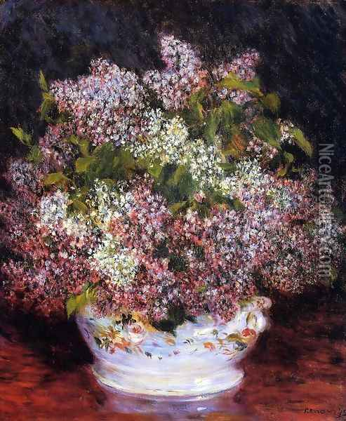 Bouquet Of Flowers3 Oil Painting - Pierre Auguste Renoir
