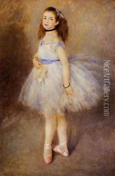 Dancer Oil Painting - Pierre Auguste Renoir