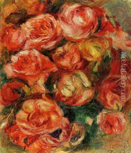 Bouquet Of Flowers2 Oil Painting - Pierre Auguste Renoir
