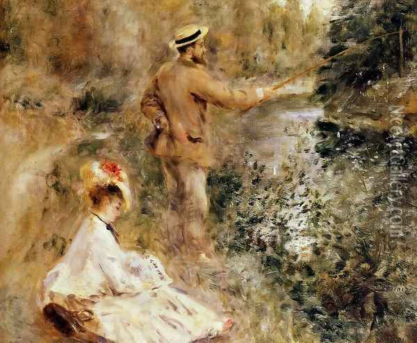 The Fisherman Oil Painting - Pierre Auguste Renoir