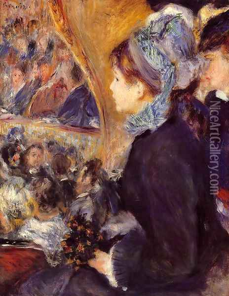 The First Outing Oil Painting - Pierre Auguste Renoir