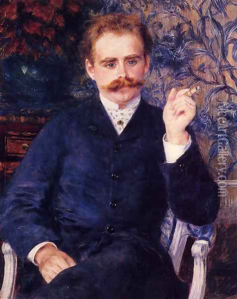 Albert Cahen d'Amvers Oil Painting - Pierre Auguste Renoir