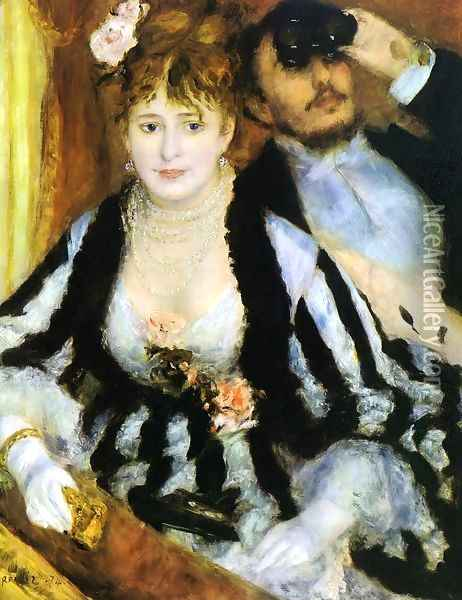The Theater Box2 Oil Painting - Pierre Auguste Renoir