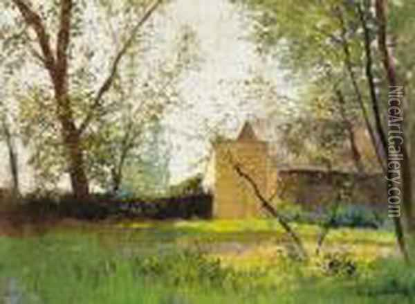 Early Spring Oil Painting - Laszlo Mednyanszky