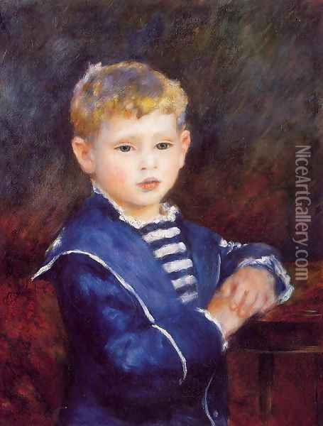 Paul Haviland Oil Painting - Pierre Auguste Renoir