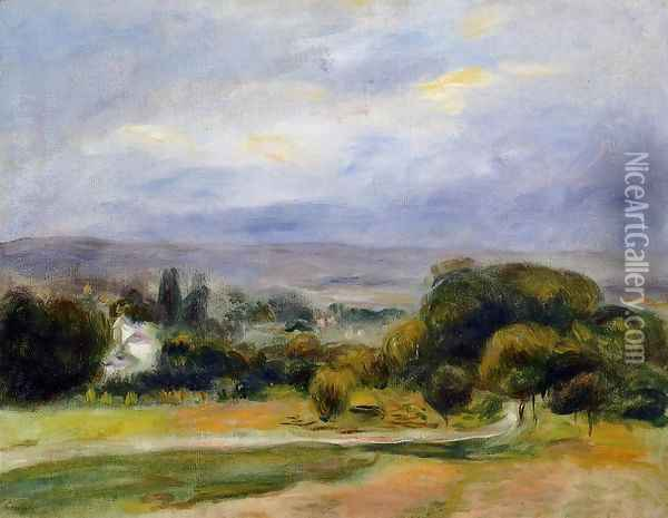 The Path Oil Painting - Pierre Auguste Renoir