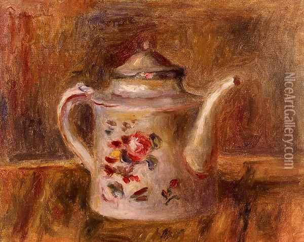 Watering Can Oil Painting - Pierre Auguste Renoir
