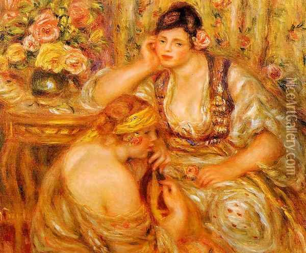 The Agreement Oil Painting - Pierre Auguste Renoir