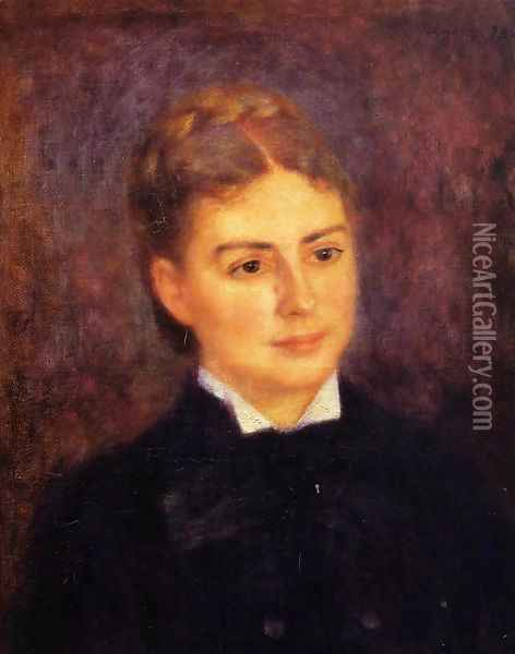 Madame Paul Berard Oil Painting - Pierre Auguste Renoir